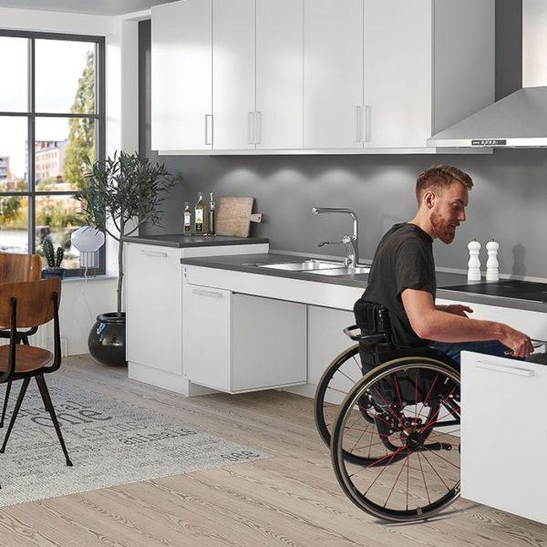 Cucina senza barriere